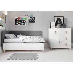 Łóżko tapicerowane SOLO