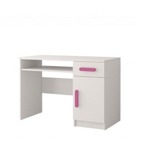 BIURKO - SMYK I biurko dla dziecka z szufladą szafką wysuwana półka na klwaiaturę