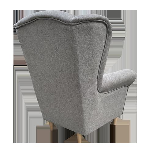 fotel uszak tył