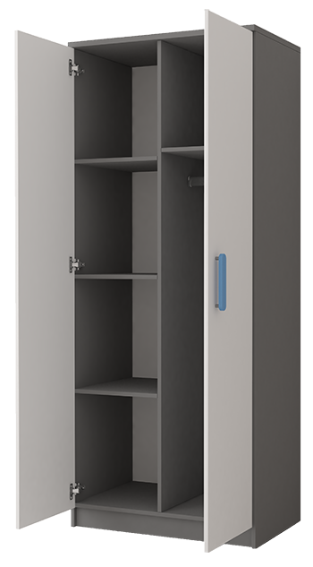 interiér skříně