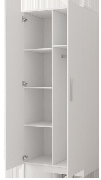 wnętrze szafy dziecięcej