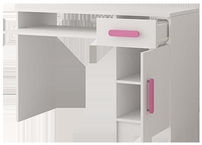 biurko wnętrze