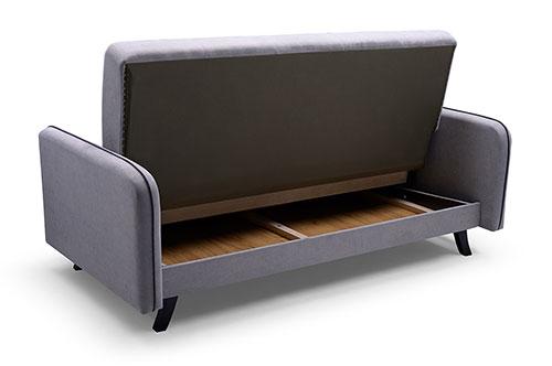 kanapa rozłożona