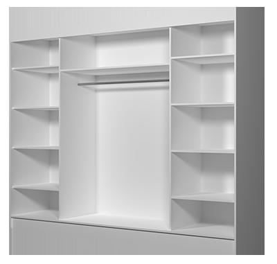 Środek szafy ALBA